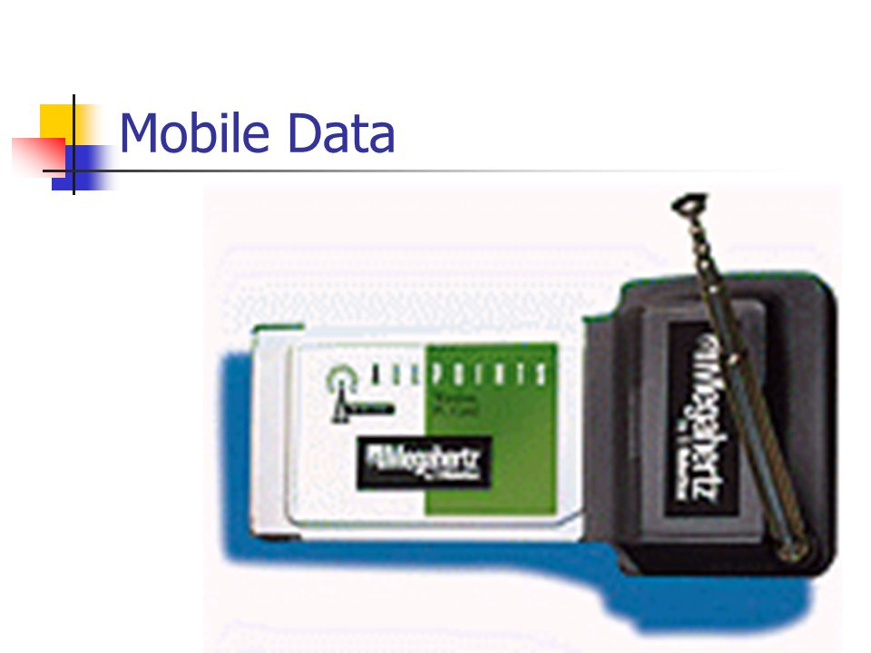 Mobile Data