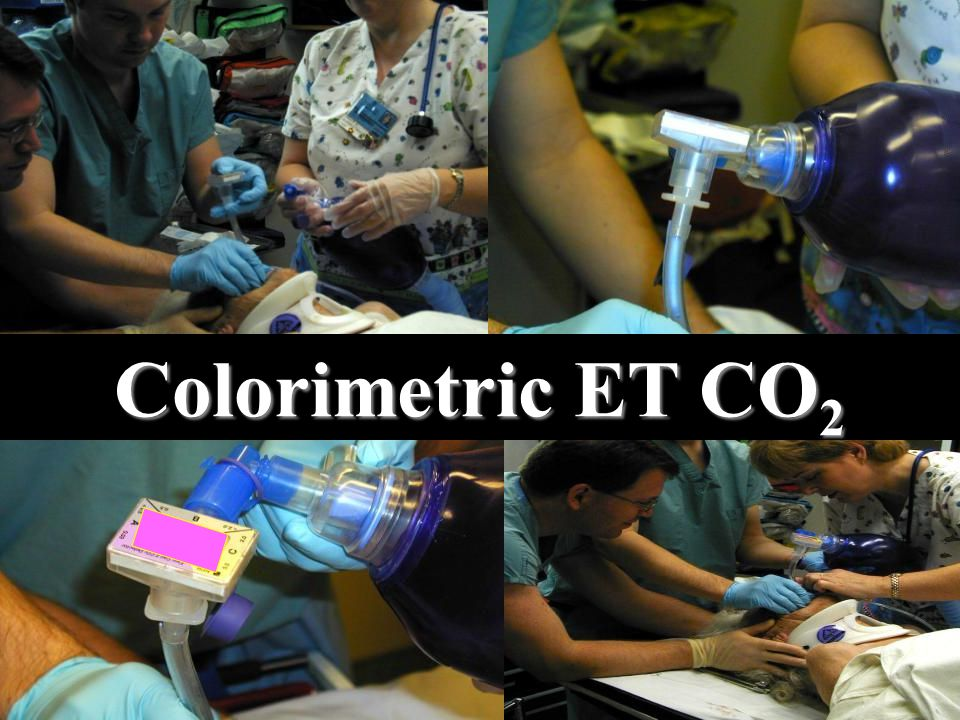 Colorimetric ET CO 2