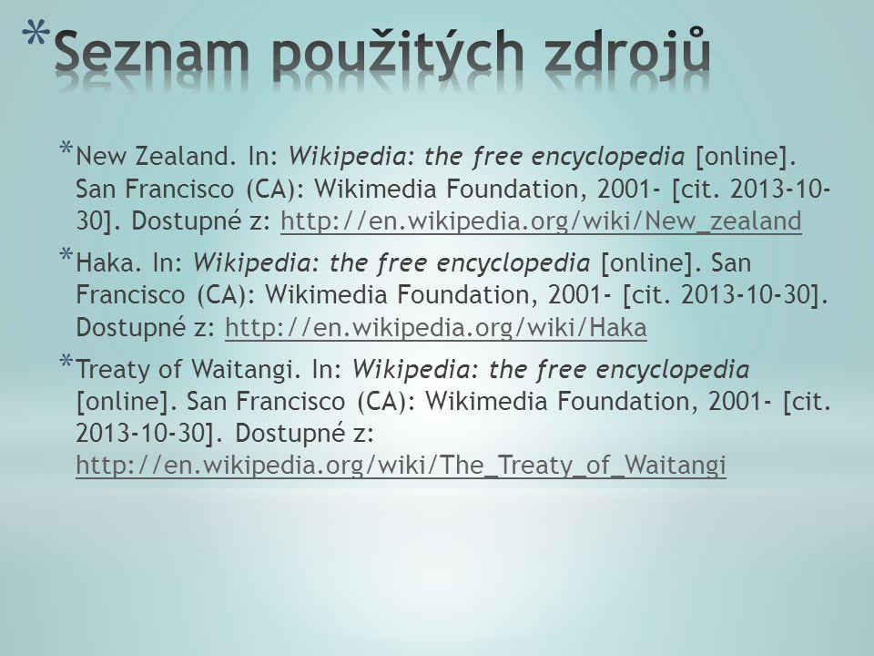 * New Zealand. In: Wikipedia: the free encyclopedia [online].