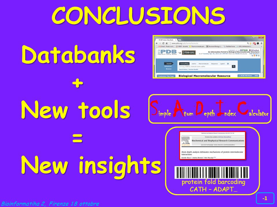 Databanks + New tools = New insights .