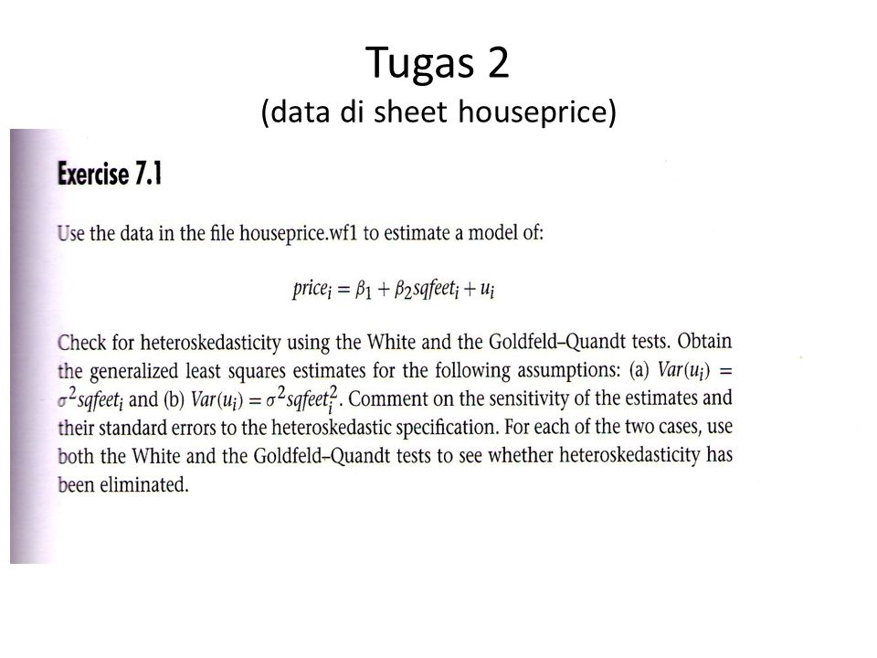 Tugas 2 (data di sheet houseprice)