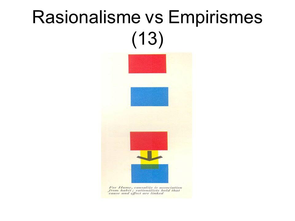 Rasionalisme vs Empirismes (13)