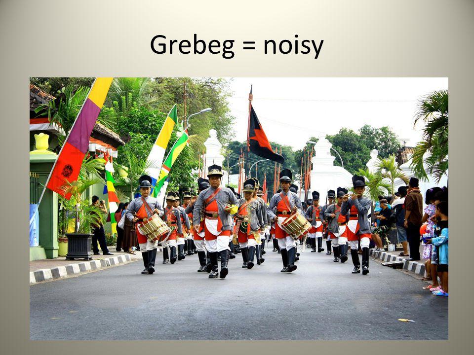 Grebeg = noisy
