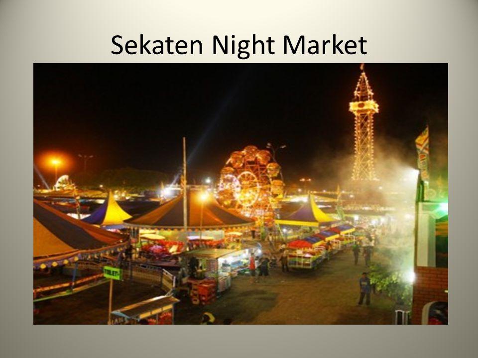 Sekaten Night Market