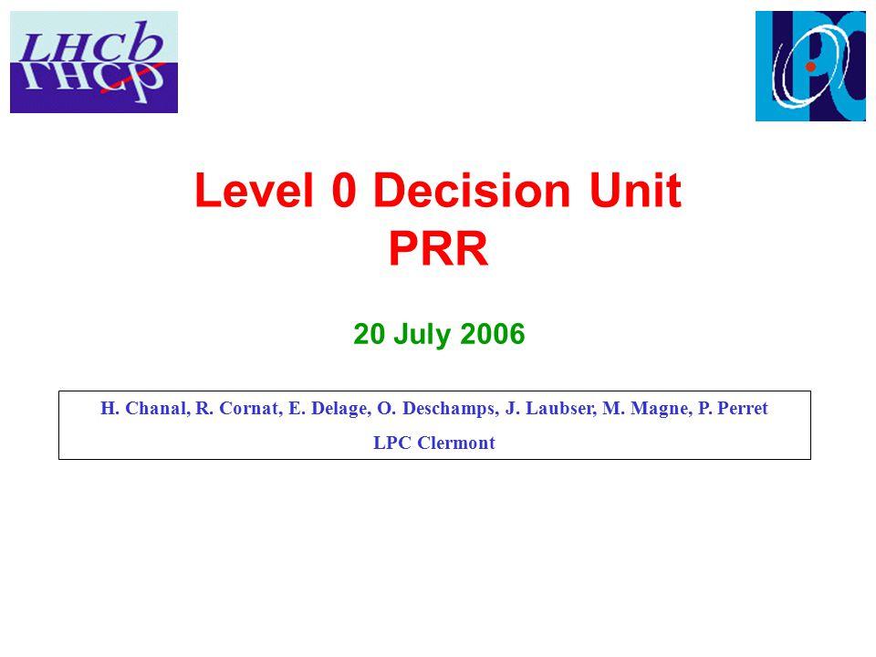 Agenda  Introduction  L0DU board design: Julien  GPL board design: Hervé/Magali  L0DU board tests: Olivier  Production and tests