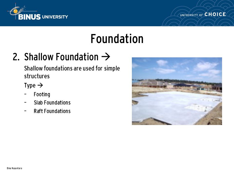 Bina Nusantara Foundation 2.
