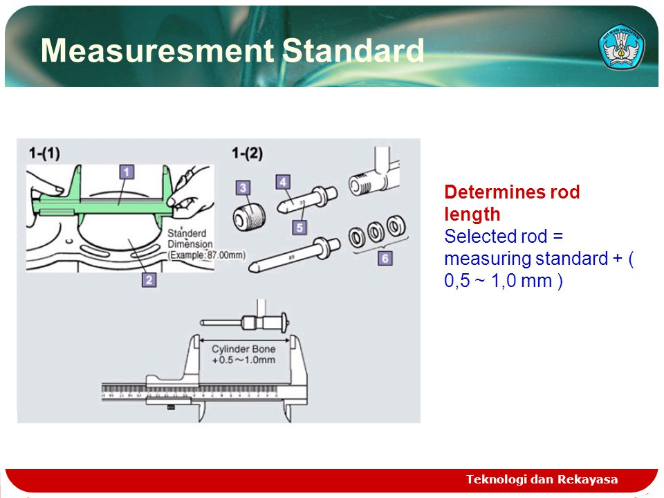cylinder bore gauge Teknologi dan Rekayasa Use to. To measure cyli diameter Correctness of this measuring instrument until 0,01 mm  This measuring in