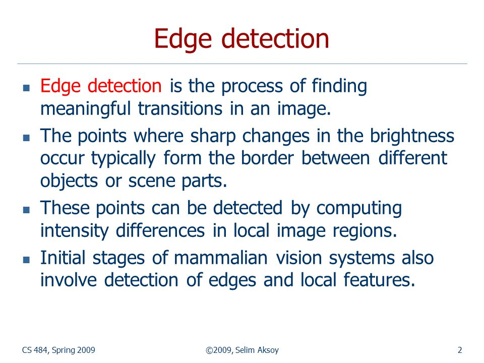 CS 484, Spring 2009©2009, Selim Aksoy83 Example: building detection