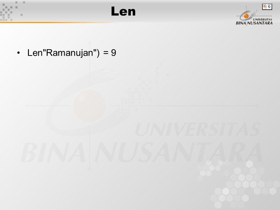 Len Len