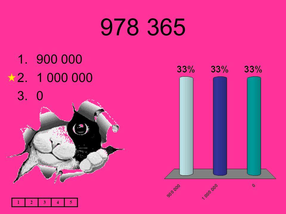 978 365 12345 1.900 000 2.1 000 000 3.0
