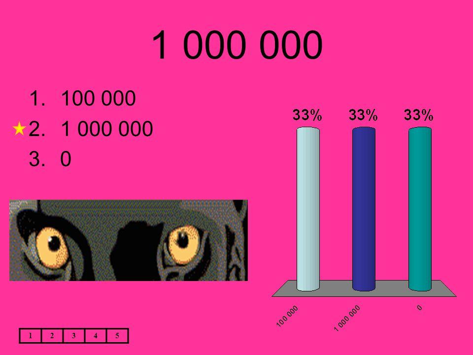 1 000 000 12345 1.100 000 2.1 000 000 3.0