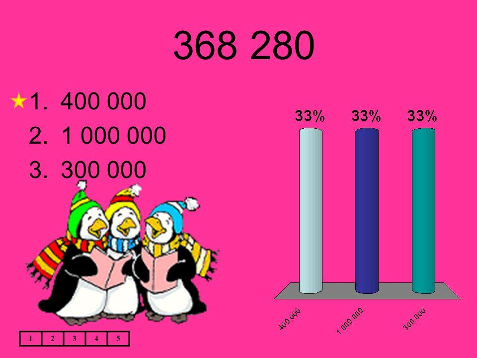 368 280 12345 1.400 000 2.1 000 000 3.300 000