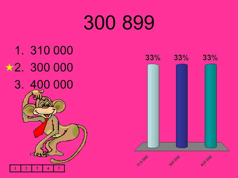 300 899 12345 1.310 000 2.300 000 3.400 000