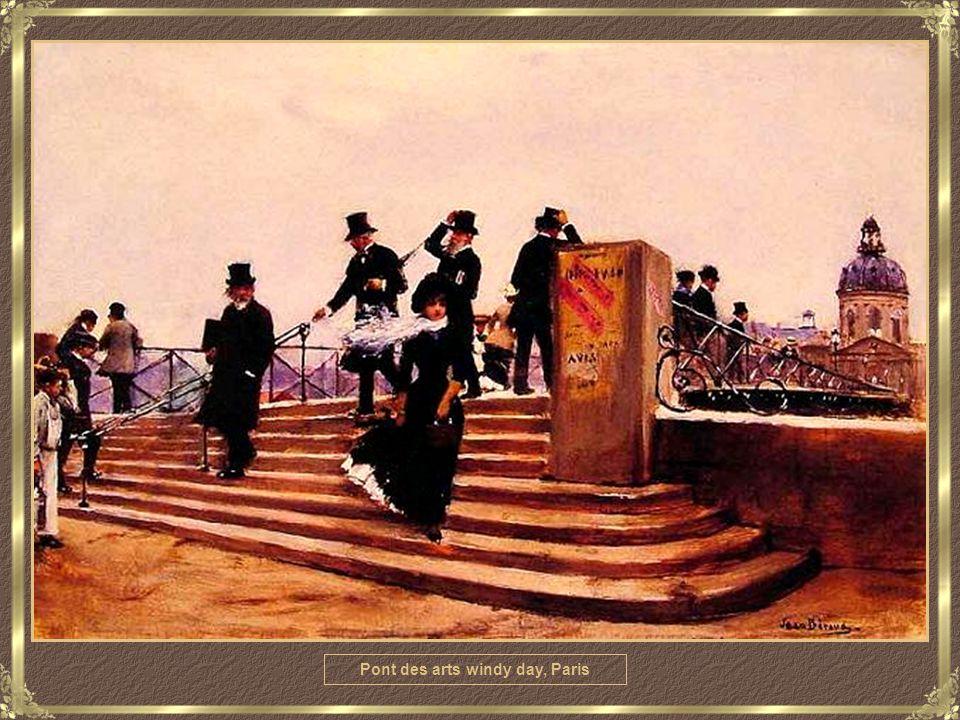Parisienne au Rond Point Des Champs Elysées
