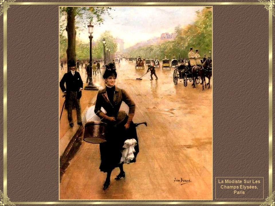 Jeune Femme Traversant le Blvd., Paris