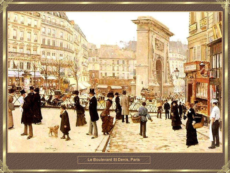 La Sortie Du Bourgeois, Paris