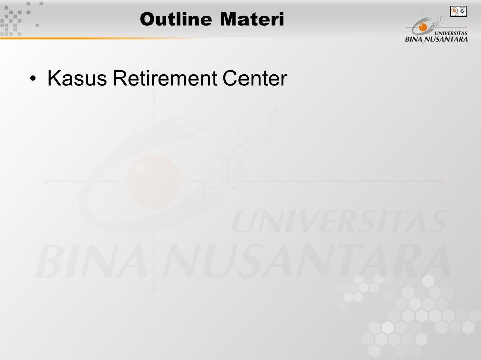 Outline Materi Kasus Retirement Center