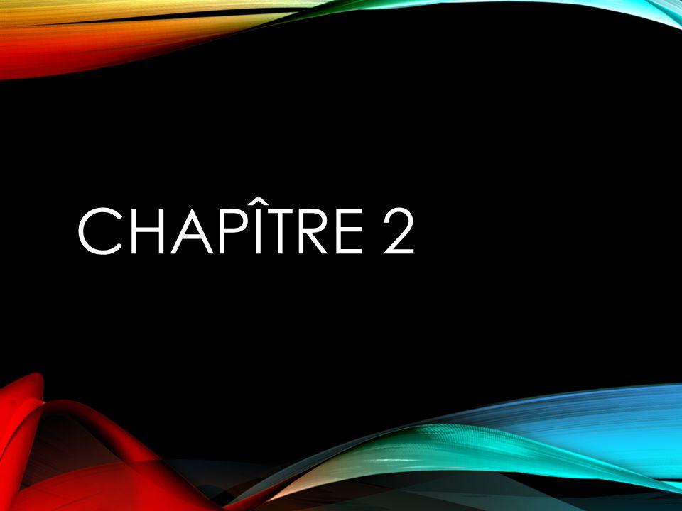 CHAPÎTRE 2