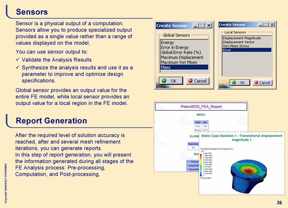 Copyright DASSAULT SYSTEMES 36