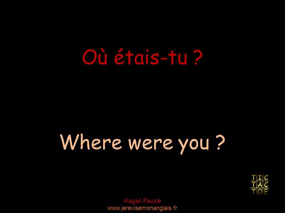 Magali Pauzié www.jerevisemonanglais.fr Off you go, then! Vas-y.