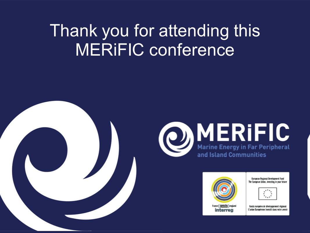 Thank you for attending this MERiFIC conference