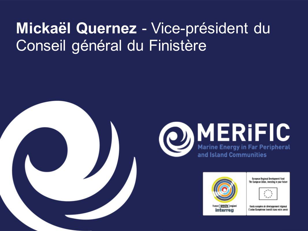 Mickaël Quernez - Vice-président du Conseil général du Finistère