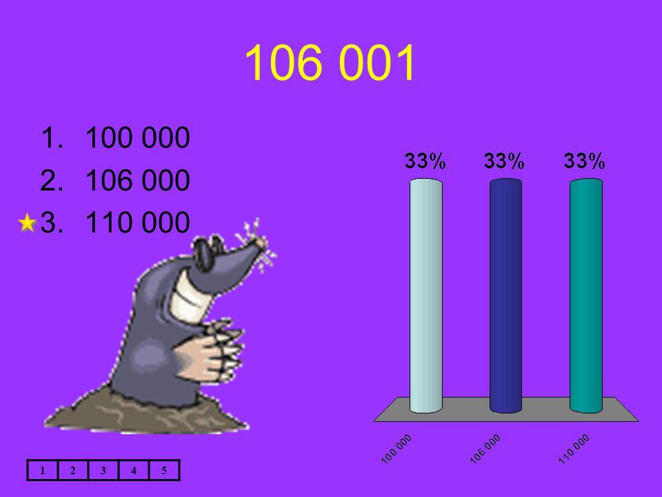 106 001 12345 1.100 000 2.106 000 3.110 000