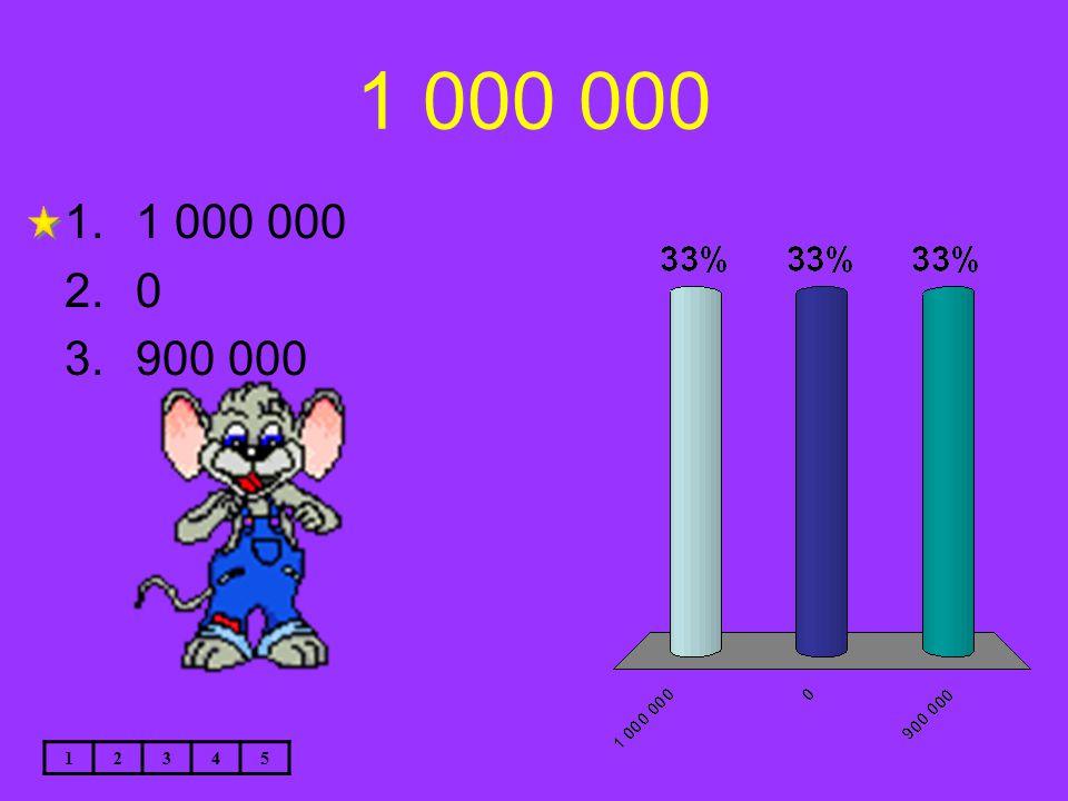 1 000 000 12345 1.1 000 000 2.0 3.900 000