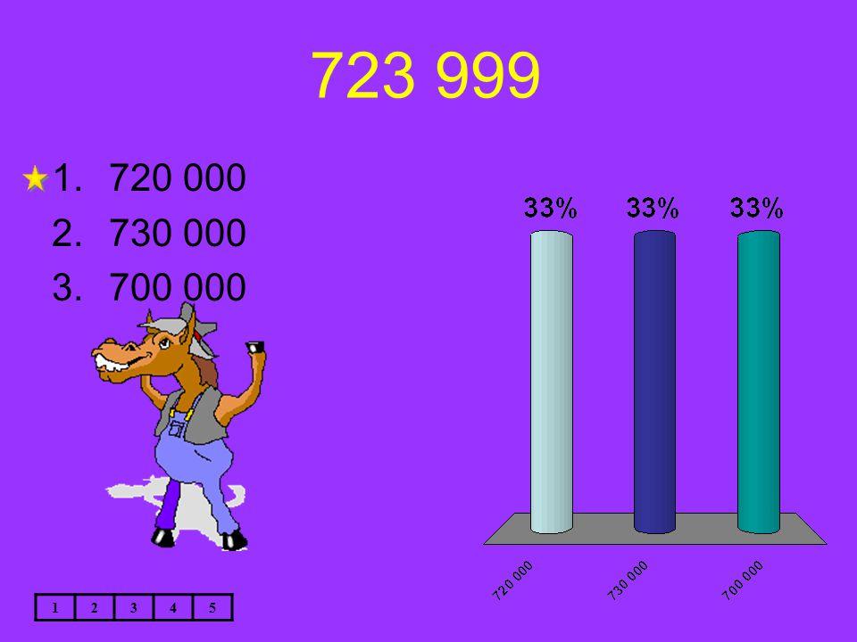 723 999 12345 1.720 000 2.730 000 3.700 000