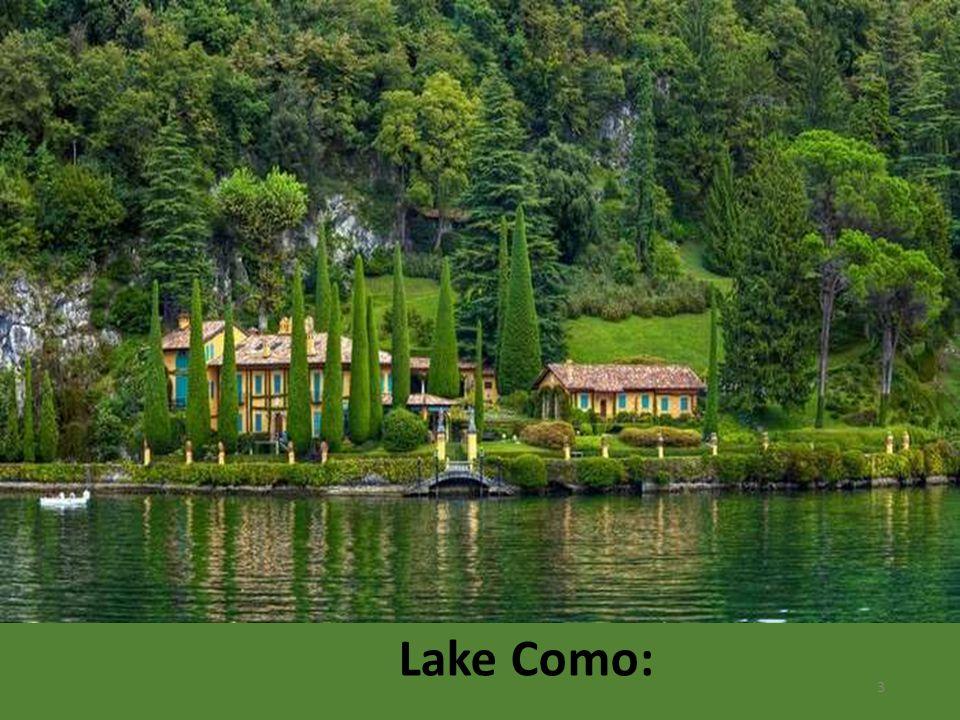 Lake Como: 3