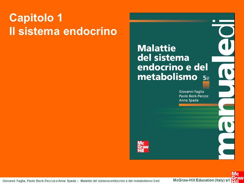 Giovanni Faglia, Paolo Beck-Peccoz e Anna Spada – Malattie del sistema endocrino e del metabolismo 5/ed McGraw-Hill Education (italy) srl Capitolo 1 Il sistema endocrino