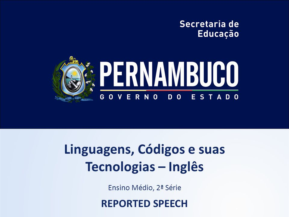 Língua Inglesa, 2º Ano Reported Speech DAVE  Check Imagem: Pedro Vera / Creative Commons Attribution 2.0 Generic I am happy.