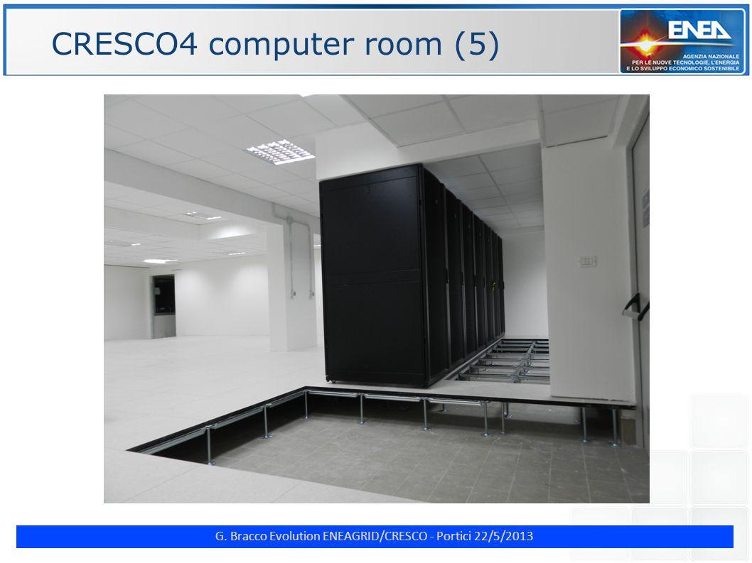G. Bracco Evolution ENEAGRID/CRESCO - Portici 22/5/2013 ENE CRESCO4 computer room (5)