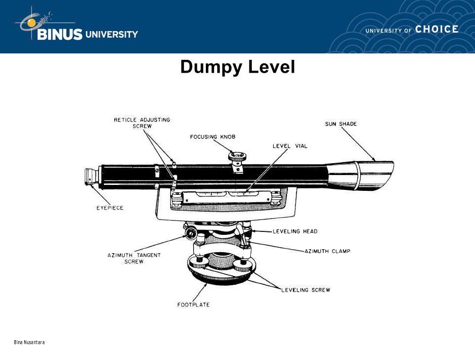 Bina Nusantara Dumpy Level