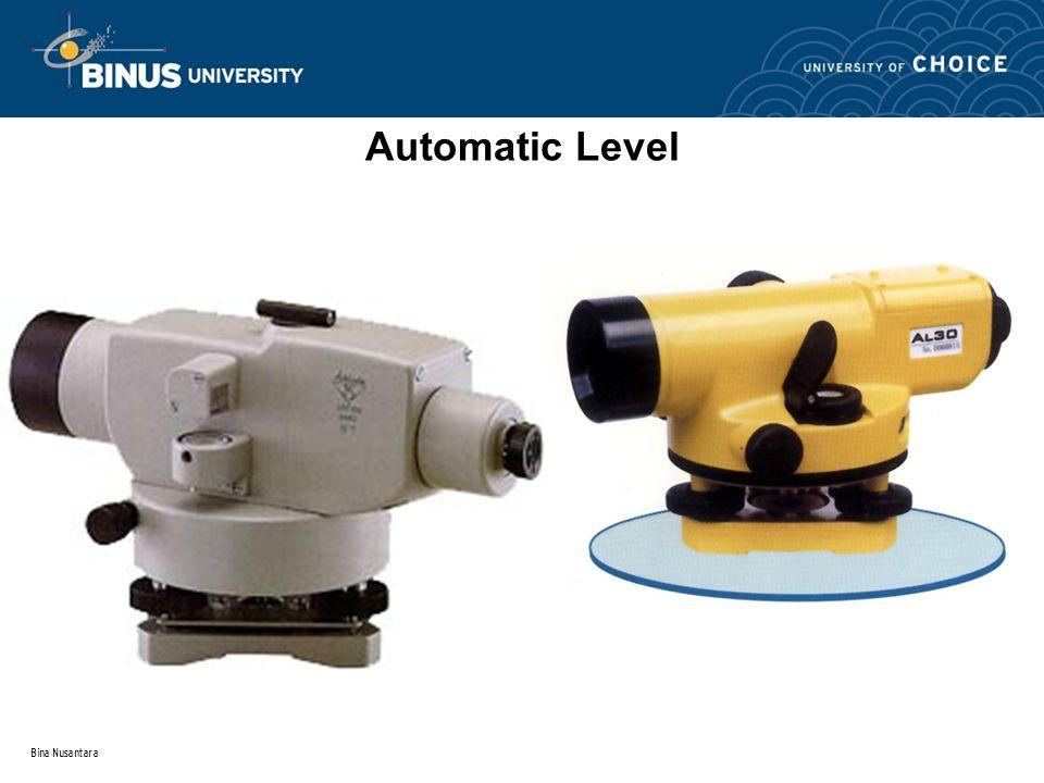Bina Nusantara Automatic Level