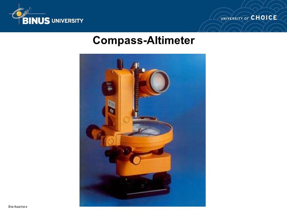 Bina Nusantara Compass-Altimeter