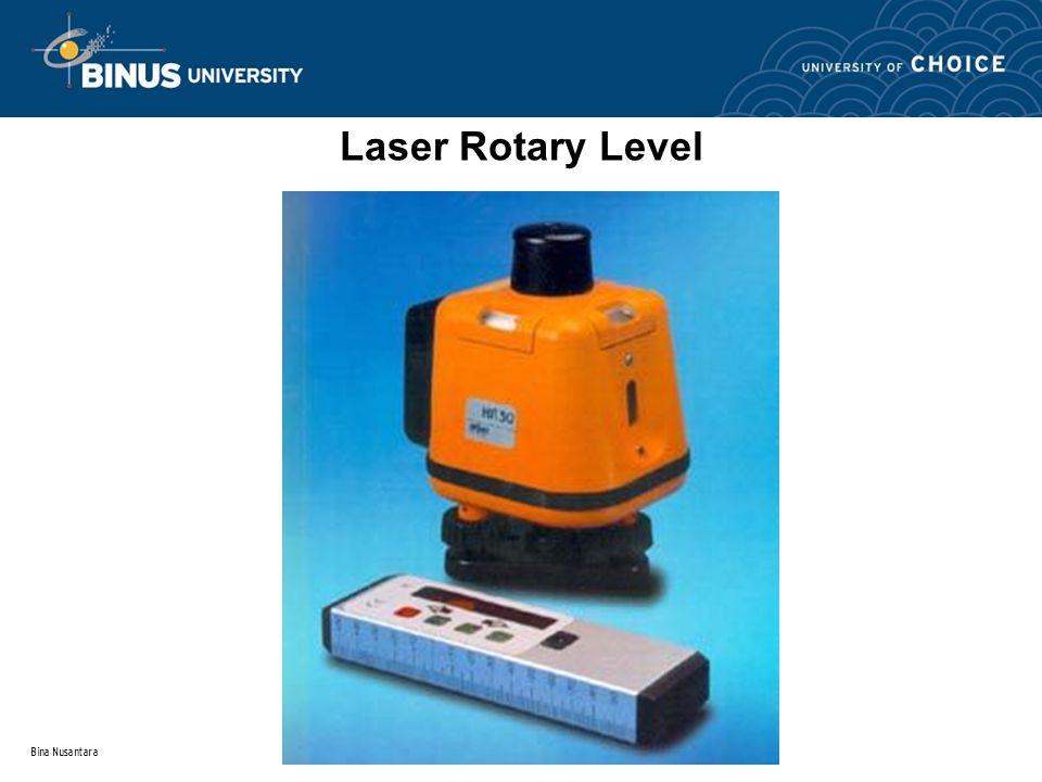 Bina Nusantara Laser Rotary Level
