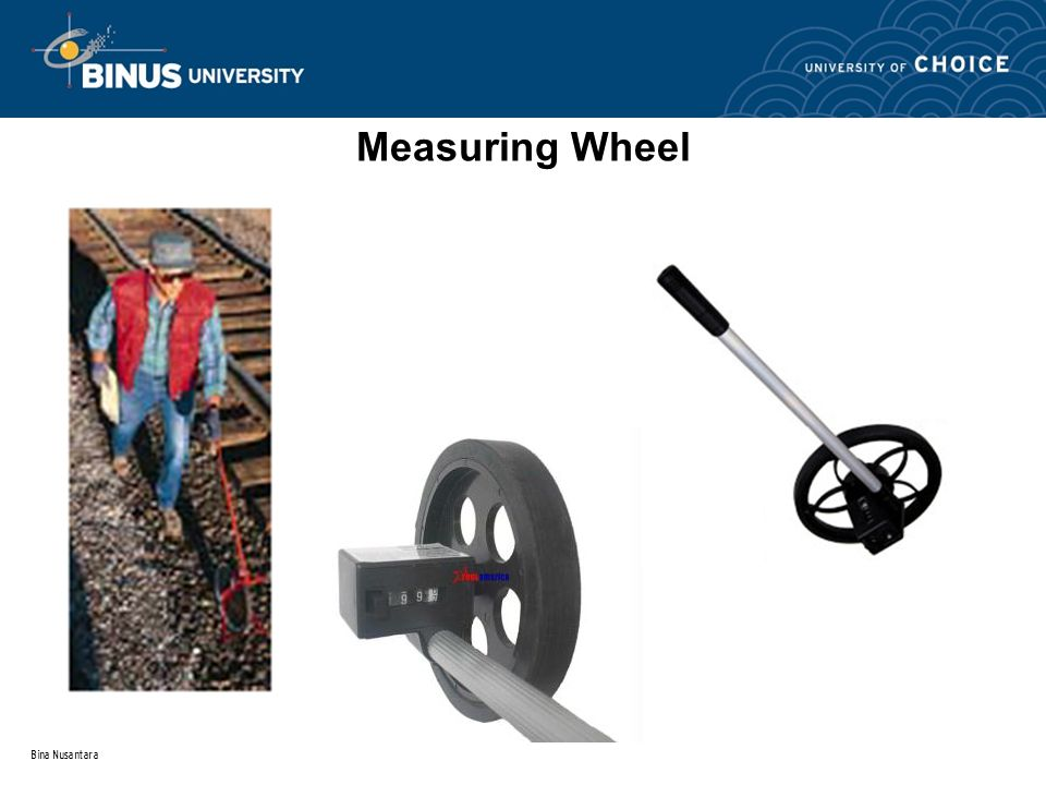 Bina Nusantara Measuring Wheel