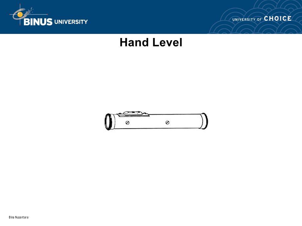 Bina Nusantara Hand Level