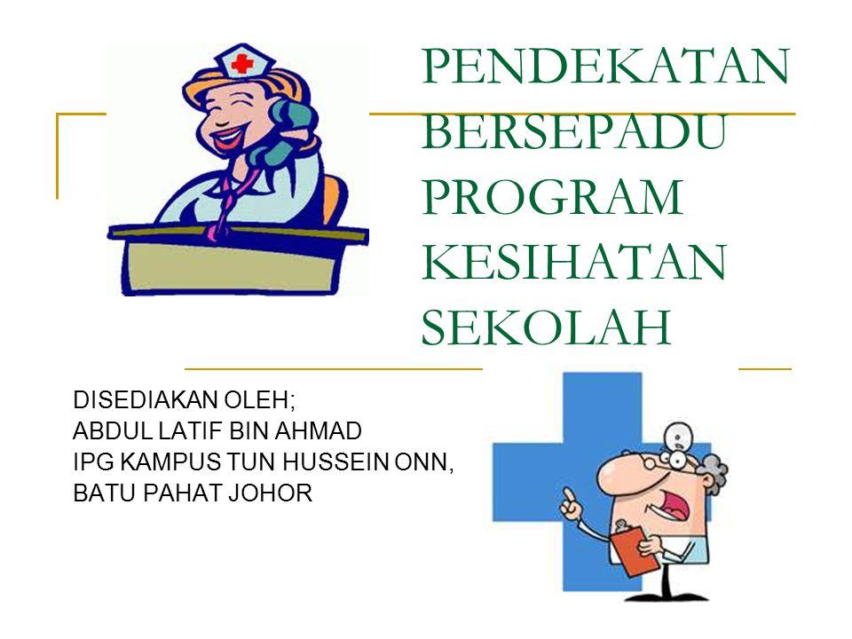 Polisi Kesihatan Sekolah Polisi Kesihatan Sekolah bertujuan untuk: piagam Menyediakan piagam panduan sekolah sebagai panduan kpd warga sekolah & masyarakat luar.
