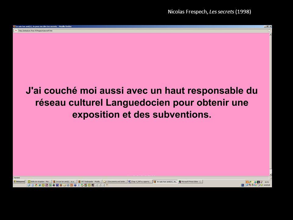 Nicolas Frespech, Les secrets (1998)