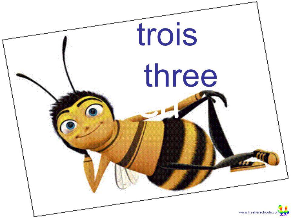 www.fresherschools.com Ben trois three