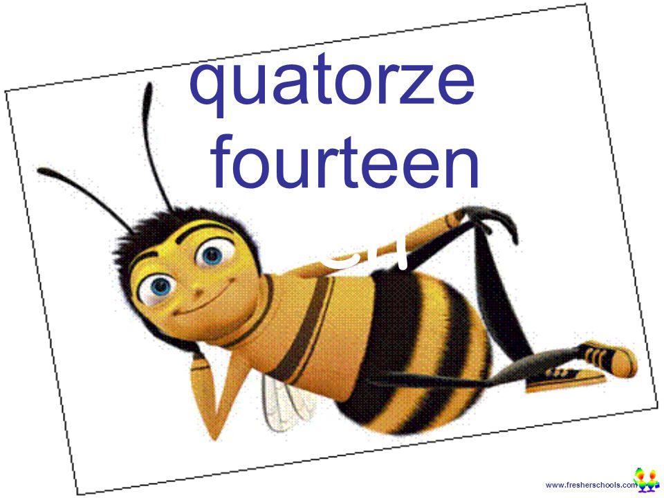 www.fresherschools.com Ben quatorze fourteen