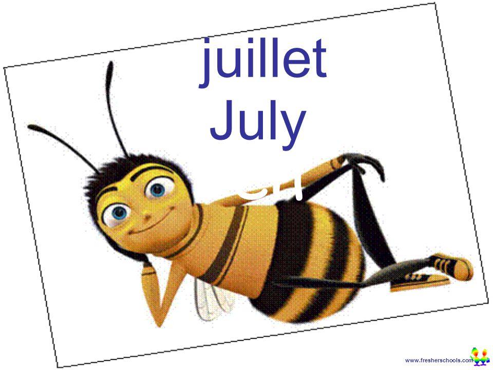 www.fresherschools.com Ben juillet July