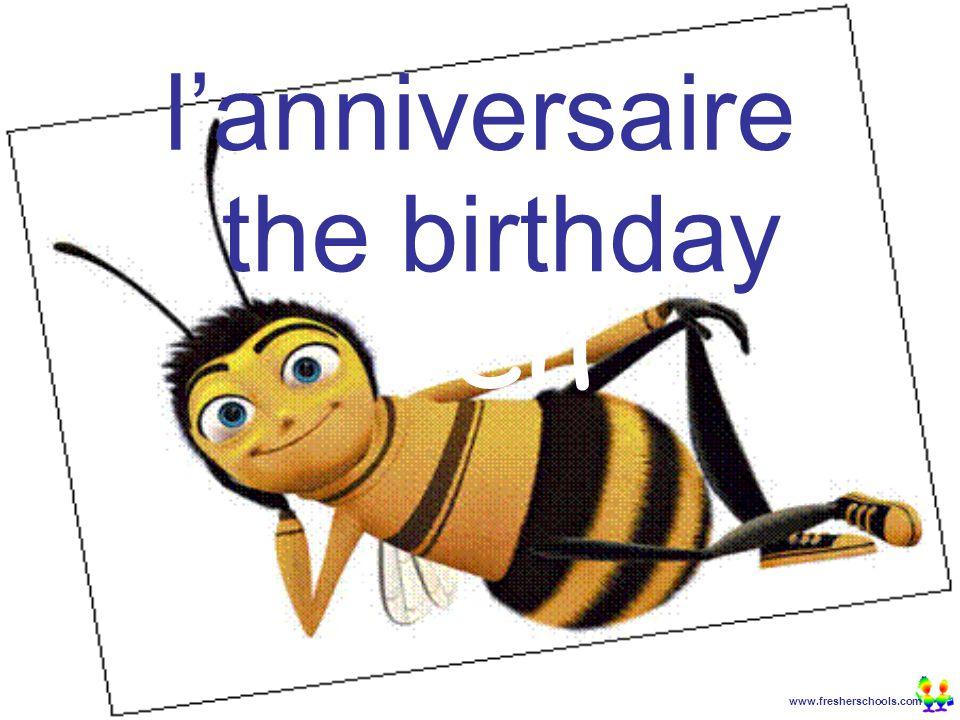 www.fresherschools.com Ben l'anniversaire the birthday