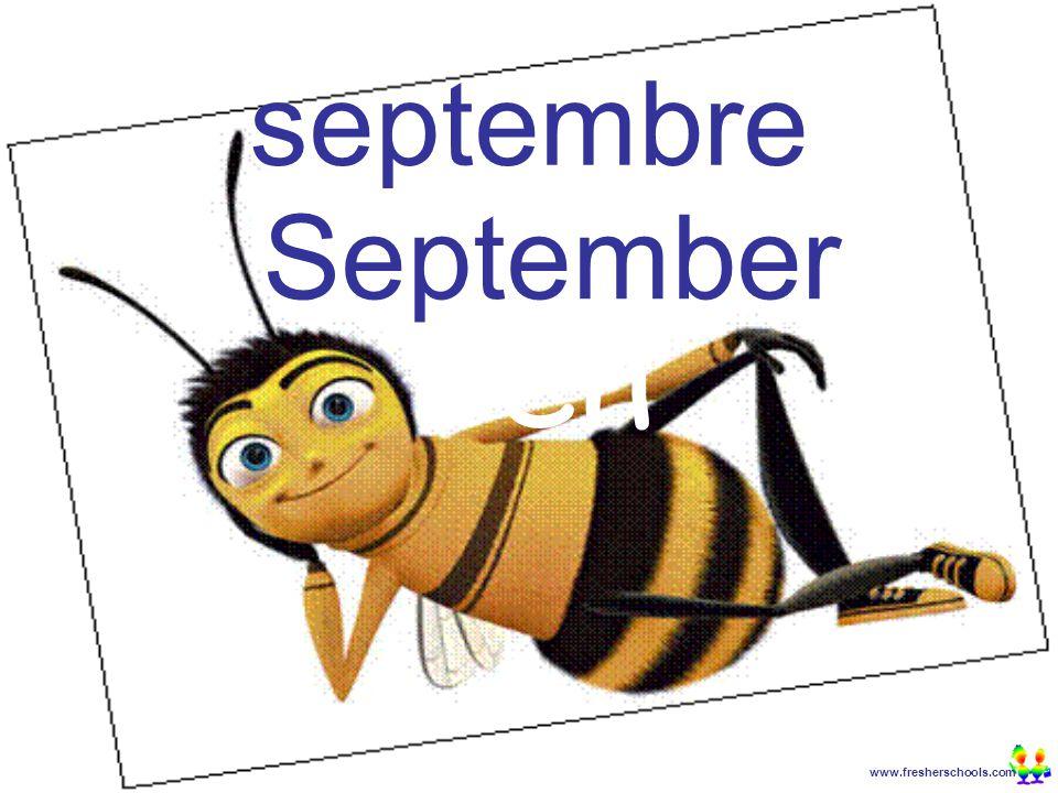 www.fresherschools.com Ben septembre September