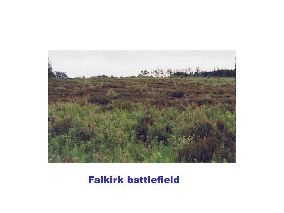 Falkirk battlefield