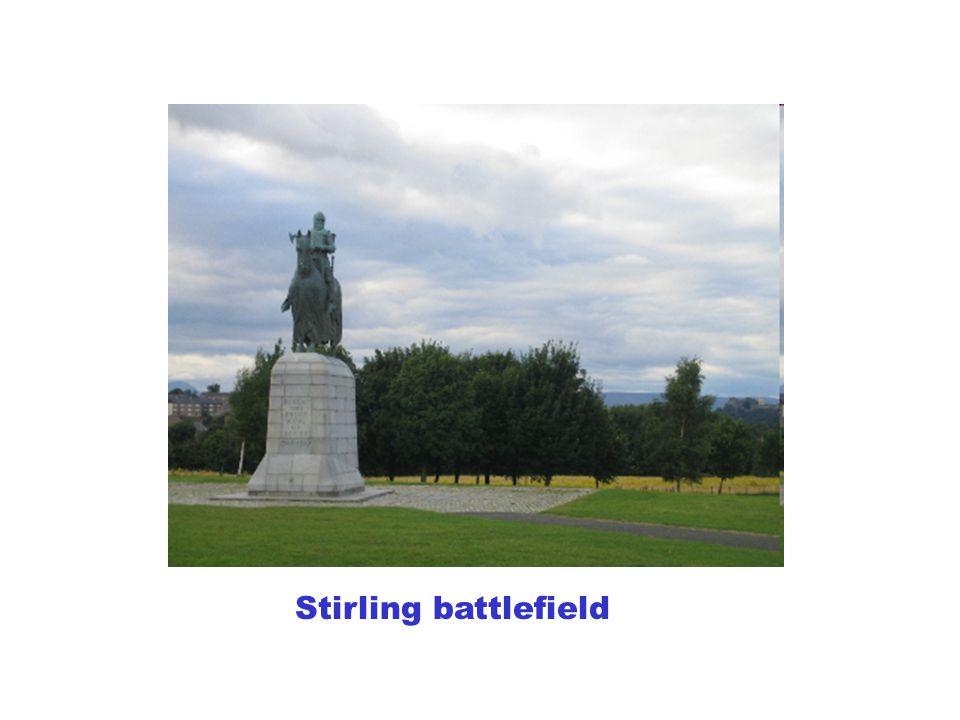Stirling battlefield