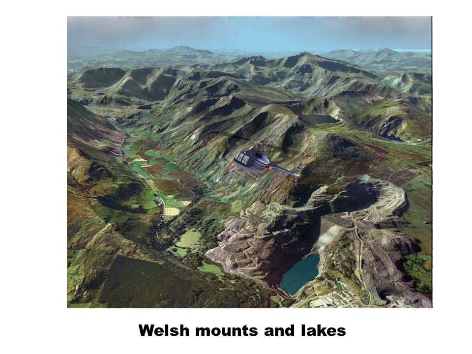 Welsh mounts and lakes
