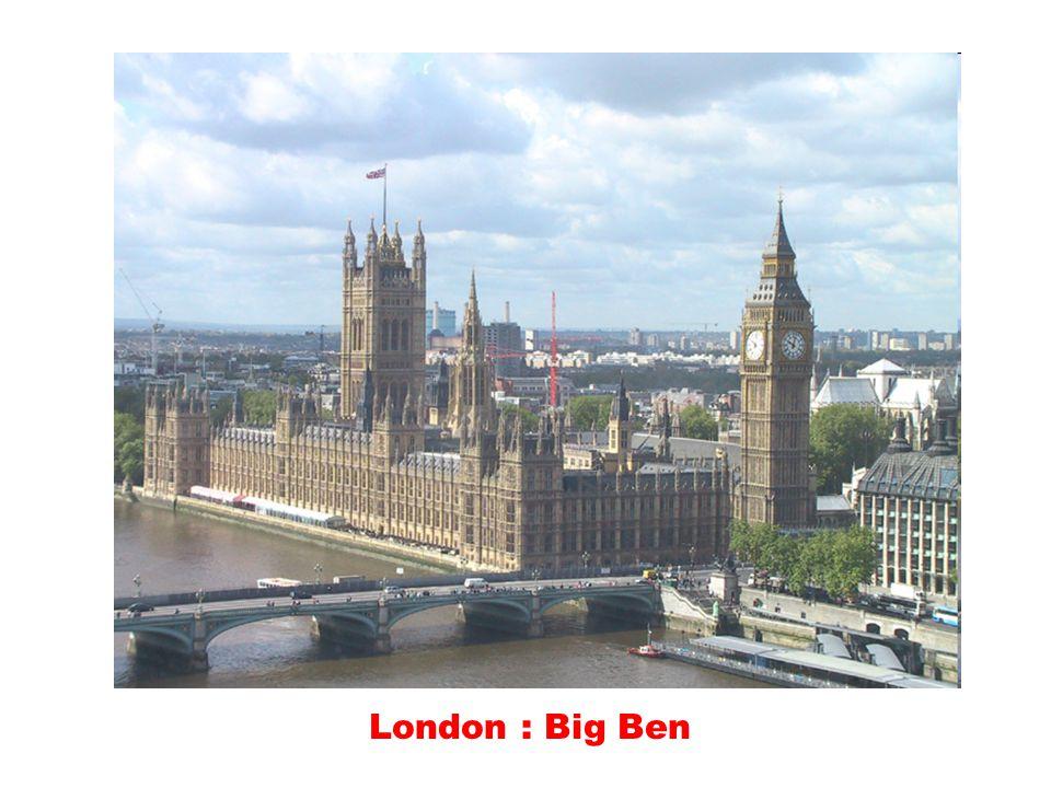 London : Big Ben